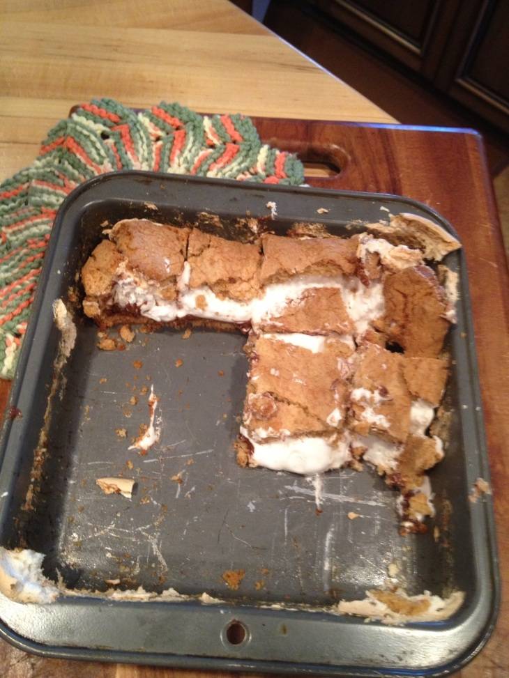 Smore Cookie Bar