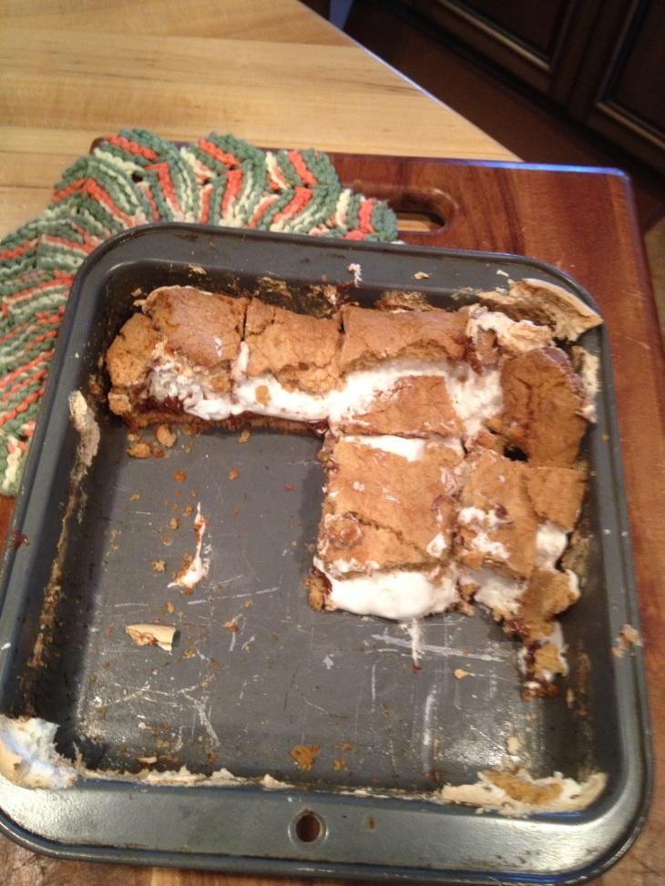 Smore Cookie Bar