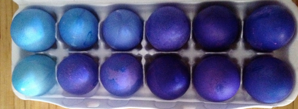 Ombre' Easter Eggs