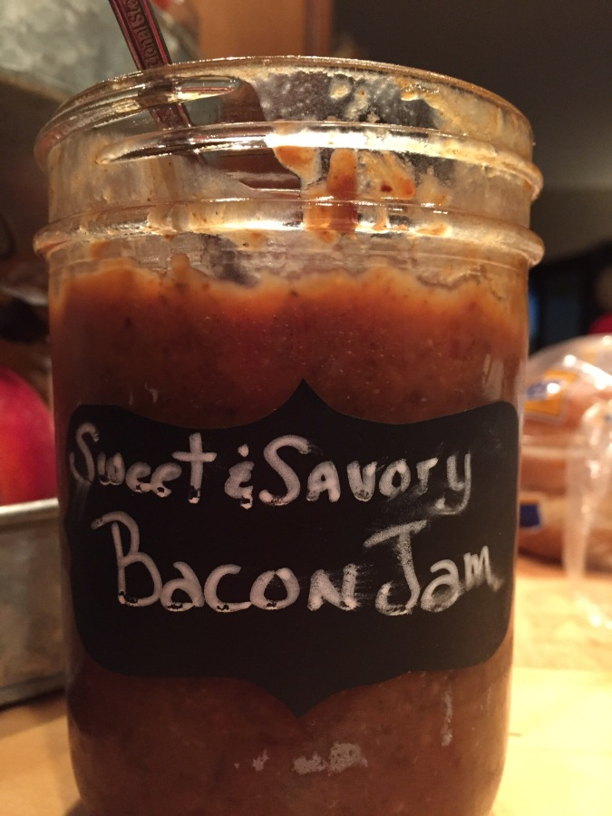 Homemade Sweet and savory BaconJam