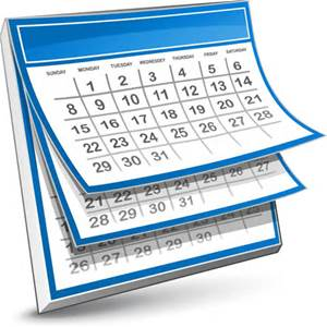 National Day of the Month Calendar for October