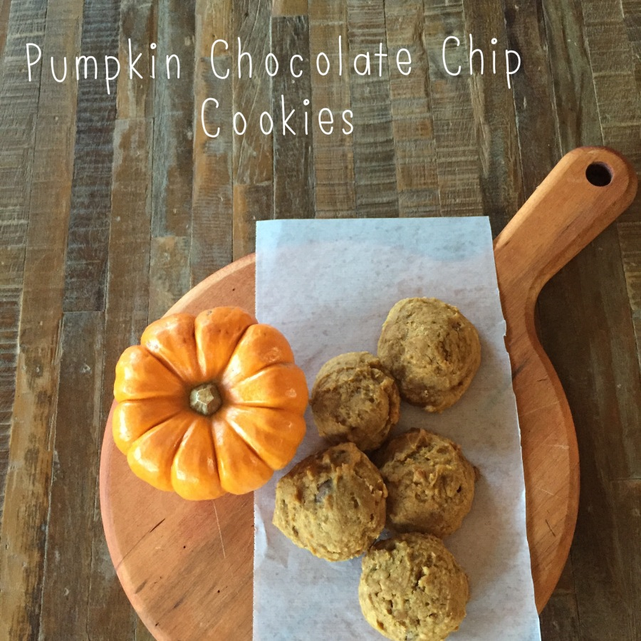 Pumpkin-Chocolate Chip Cookies